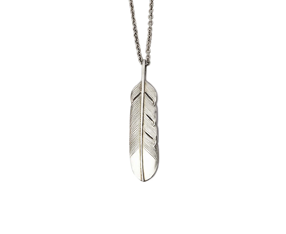Feather Necklace l