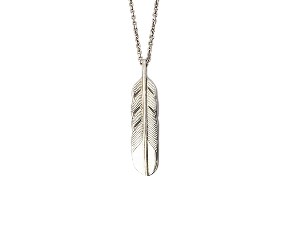 Feather Necklace m