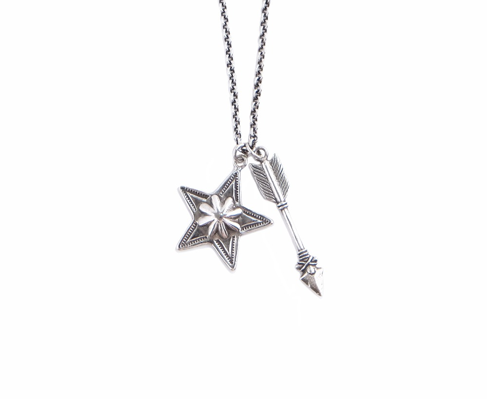 Arrow and Star Necklace